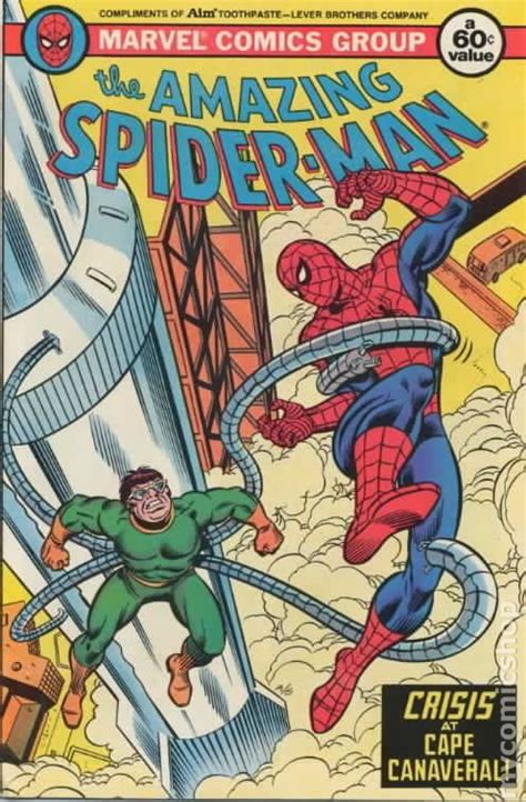 Comic Giveaway - amazing spider man aim toothpaste giveaway 1980 comic books