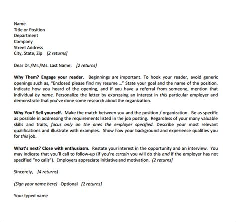 Sample Camp Counselor Cover Letter  6  Free Documents in