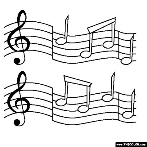 coloring page for music music notes coloring page music cookies pinterest