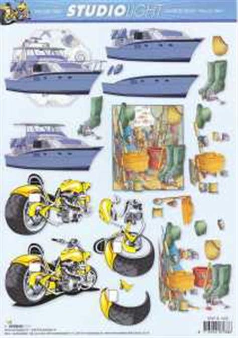 Motorrad Bogen Online by 3d Bogen Herrenmotive Motorboot Motorrad Angeln Stsl 1050