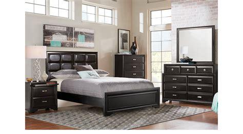 belcourt black 5 pc queen sleigh bedroom queen bedroom sets black belcourt black 5 pc queen upholstered bedroom platform