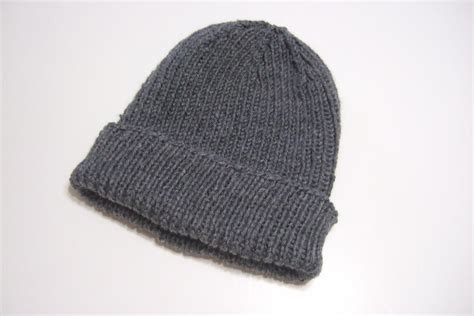 free hat knitting patterns using needles favorite ribbed hat for needles allfreeknitting