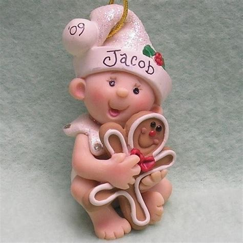 unique handmade polymer clay christmas ornaments family