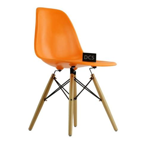 Charles Eames Dsw by Charls Eames Dsw Chair Orange