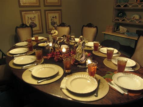 dinner setting photo story thanksgiving day meredith williams
