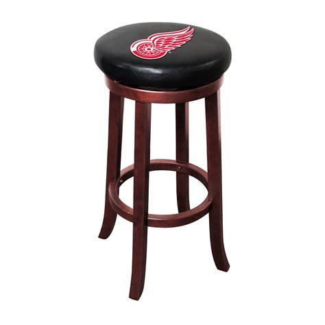 Wings Bar Stool by Detroit Wings 174 Wood Bar Stool