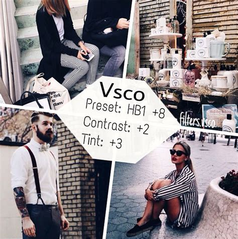 tutorial efeito vsco 50 vsco cam filter settings for better instagram photos
