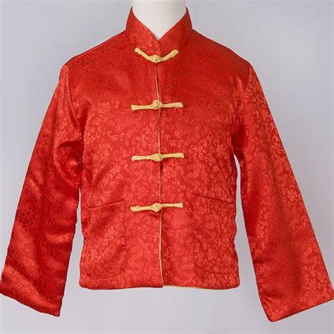 Zodiac Home Decor reversible silk mandarin jacket chinese apparel kids