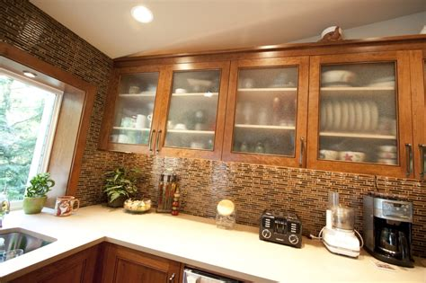 upper kitchen cabinets with glass doors custom frosted glass door style on kitchen upper cabinets