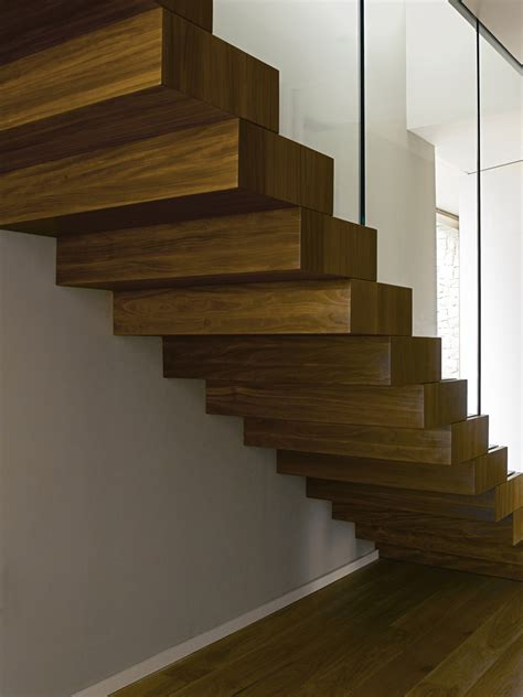 Home Interior Design Steps by Wood Amp Glass Stairs Contemporary Home In Monasterios Spain