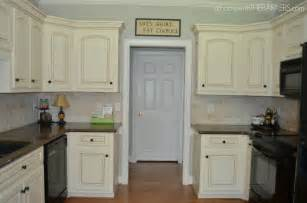 Kitchen Cabinets Makeover Ideas by Kitchen Makeover Part 1 The Paint At Home With The Barkers