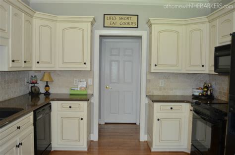 Kitchen Cupboard Makeover Ideas by Kitchen Makeover Full Cabinet At Home With The Barkers