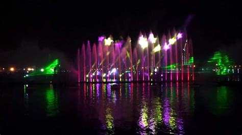 city light and water dubai festival city light laser water and 19