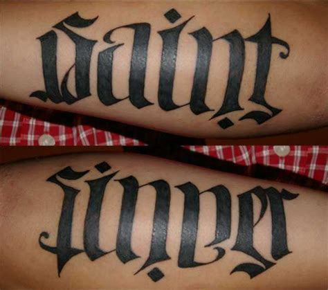 ambigram maker3d tattoos
