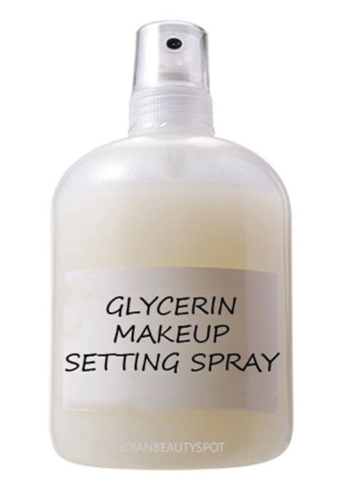 diy makeup setting spray glycerin diy 4 makeup setting spray trusper