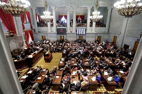 tennessee house of representatives tennessee house rejects provision in guns in parks bill allowing pistols in state