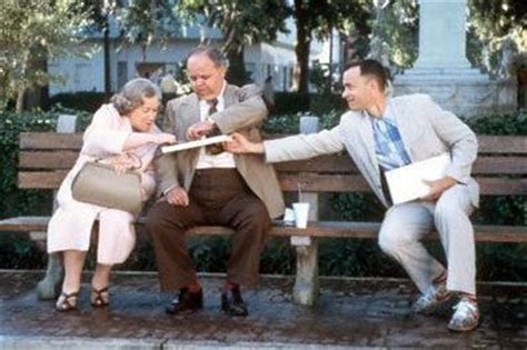 forrest gump park bench scene forrest gump images chocolates wallpaper and background