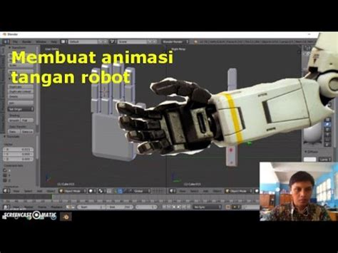 cara membuat video animasi dengan blender cara membuat animasi tangan robot dengan menggunakan