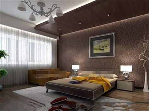 chambre brune confortable et g 168 166 n 168 166 reux chambre brune 3d model