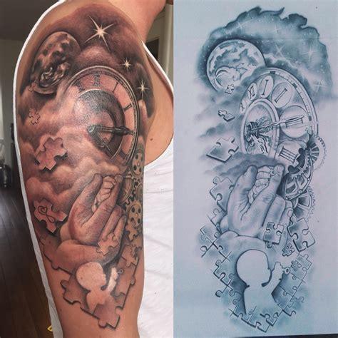 tattoo arm zon een duwtje in de rug mamaplaats