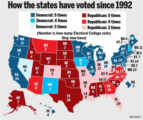 us map and blue states 2012 media bites how will the election turn out duh ask