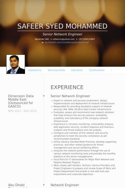 senior network engineer resume exle ingeniero de redes ejemplo de curr 237 culum base de datos de visualcv muestras de curr 237 culos