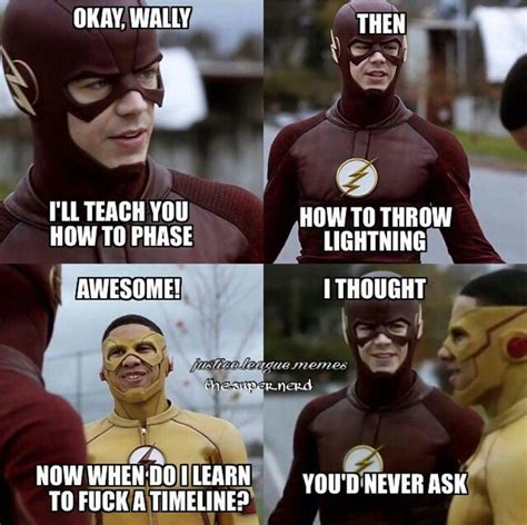 Meme Tv - the flash funny meme please teach me how to f k the