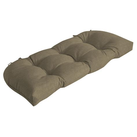 outdoor settee cushions charleston outdoor settee cushion 7426 01242500 the home
