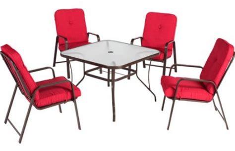 mainstays lawson ridge 5 patio dining set