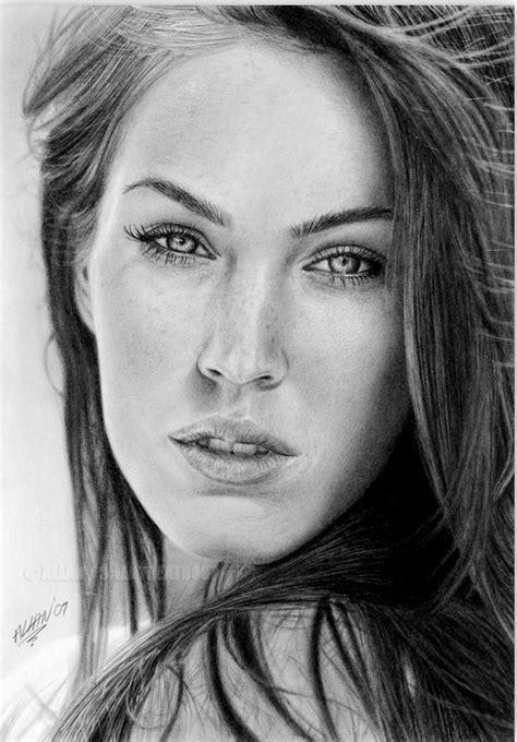 dibujos realistas rostros pintura moderna y fotograf 237 a art 237 stica rostros de