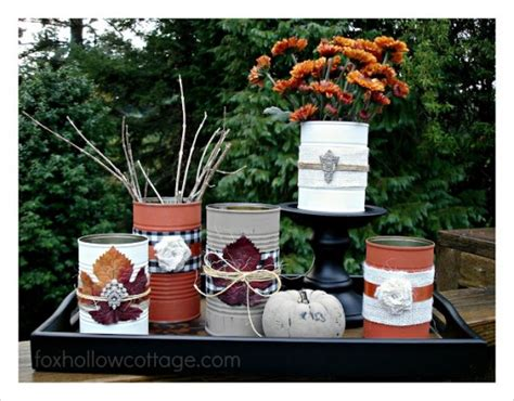 tin decorations repurpose tin cans into beautiful decor the frugal