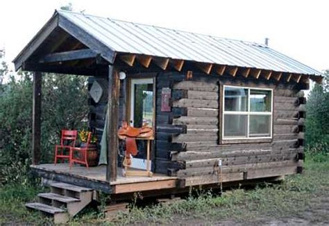 Small Mobile Home Cabin Log Cabin Mobile Homes Log Cabins To Go