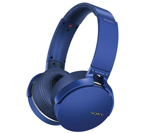 Sony Extrabass Bluetooth Headphone Mdr Xb950b1 L Blue sony bass wireless speakers and headphones launched