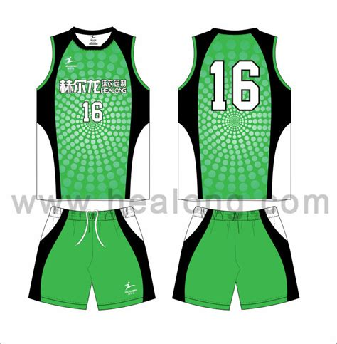 jersey design maker volleyball sublimation customized high class sleeveless volleyball