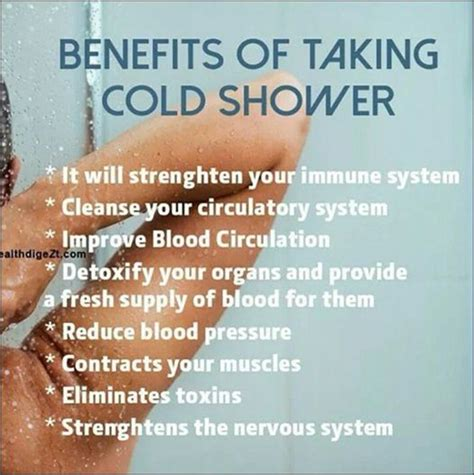 1000 images about benefits of cold shower on
