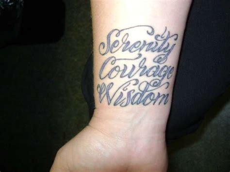 serenity courage wisdom tattoo 50 best artsy stuff images on cancer ribbon