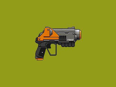 design gun game pixel gun on pantone canvas gallery
