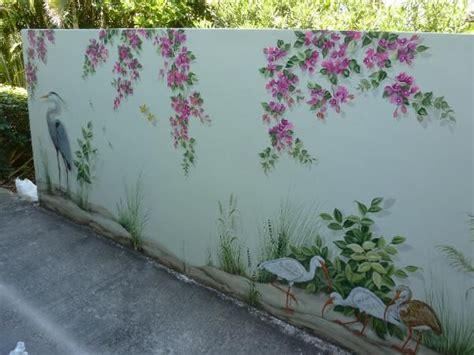 outdoor wall mural stencils best 25 garden mural ideas on mural ideas