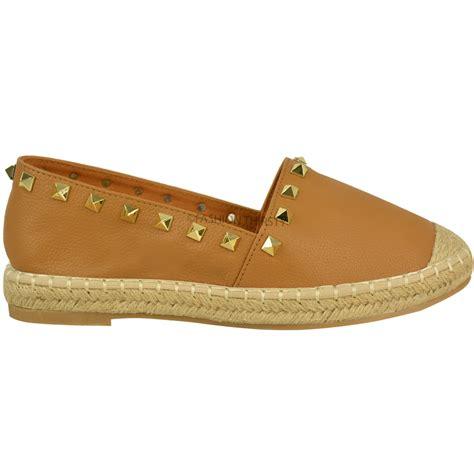 summer shoes for flat womens slip on flat espadrilles summer shoes stud