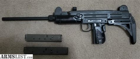 armslist  sale  uzi mm carbine semi auto uc