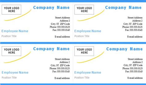 create business cards in word 2013 choice image card
