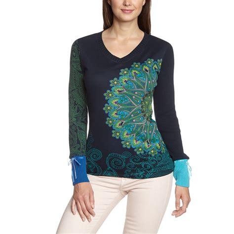 desigual catty pullover marino size l xl