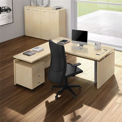 scrivanie per uffici direzione scrivanie linekit