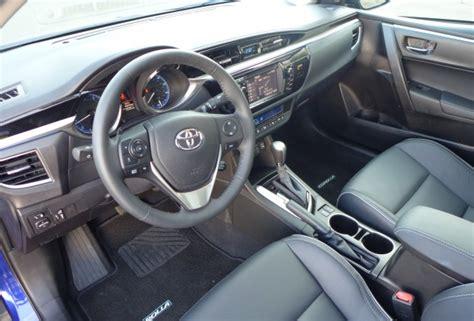 2015 toyota corolla s premium 2015 corolla interior