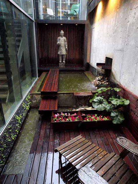 clever design ideas  narrow  long outdoor spaces