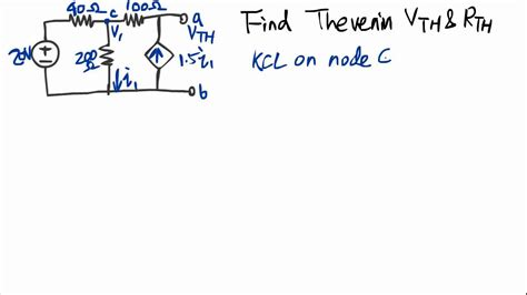 how to find out the resistance of a resistor find the thevenin voltage and resistance of a circuit 1 1