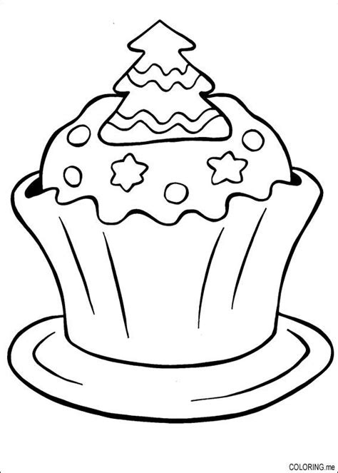 christmas cake coloring pages coloring page christmas cake miam coloring me