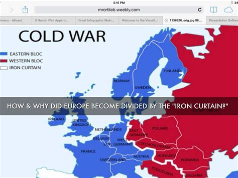 how to get the iron curtain the cold war by mrs lorenz
