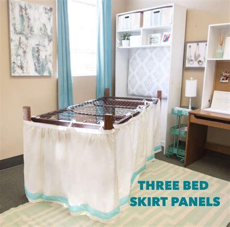 dorm room bed skirts 17 migliori idee su dormitorio gonne letto su pinterest