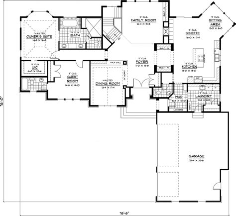 ranch style home floor plans awesome best ranch house plans 6 best ranch style house